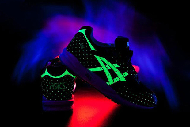 "Image of ASICS ""Glow In The Dark"" Pack"
