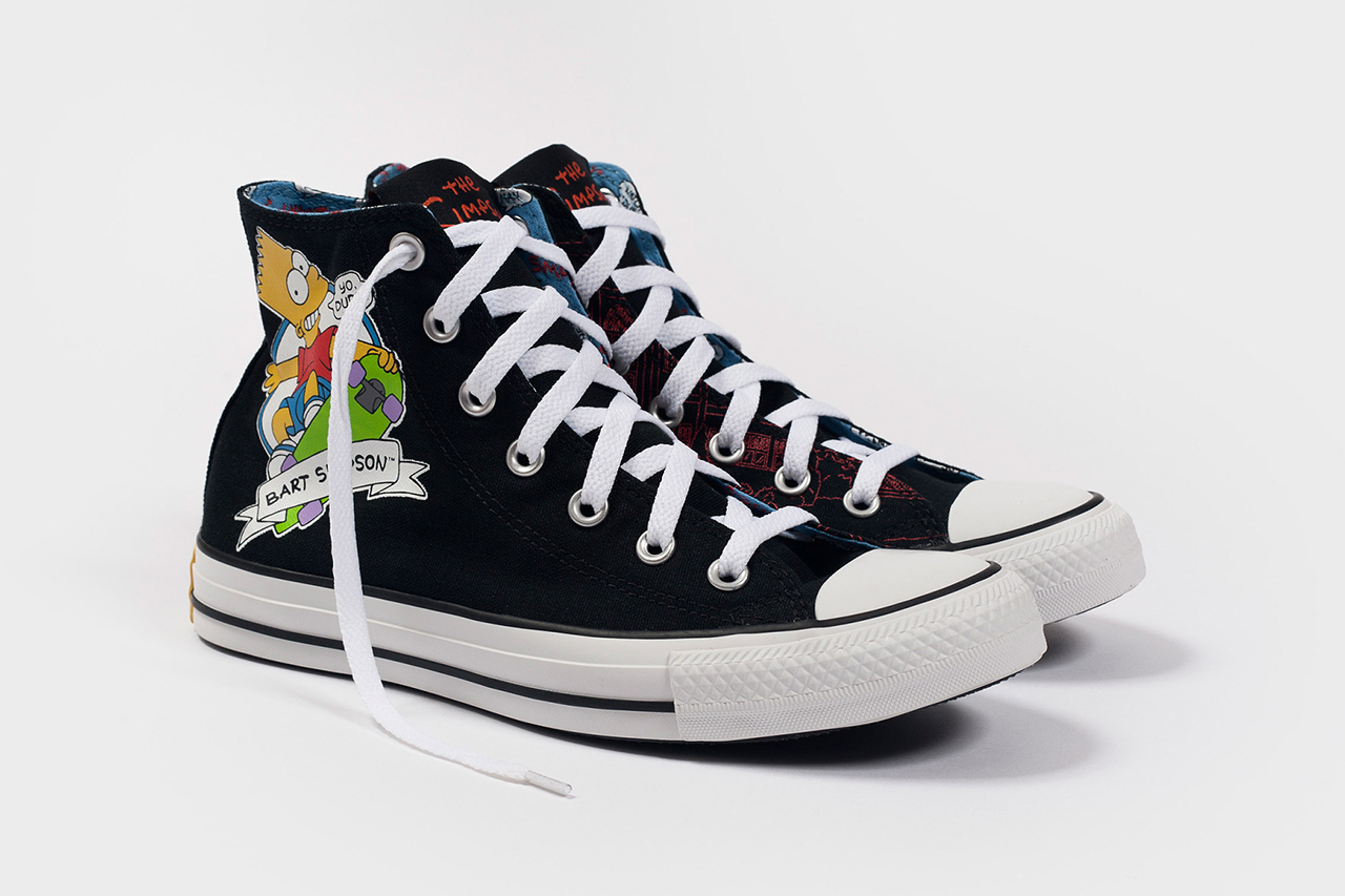 Image of The Simpsons x Converse 2014 Fall Collection