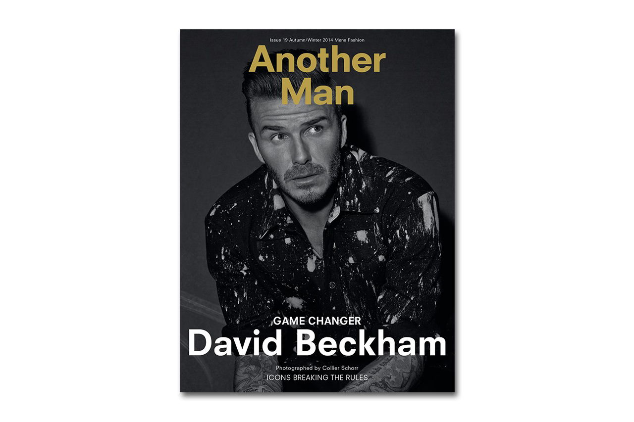 Image of David Beckham Covers Another Man's 2014 Fall/Winter Issue