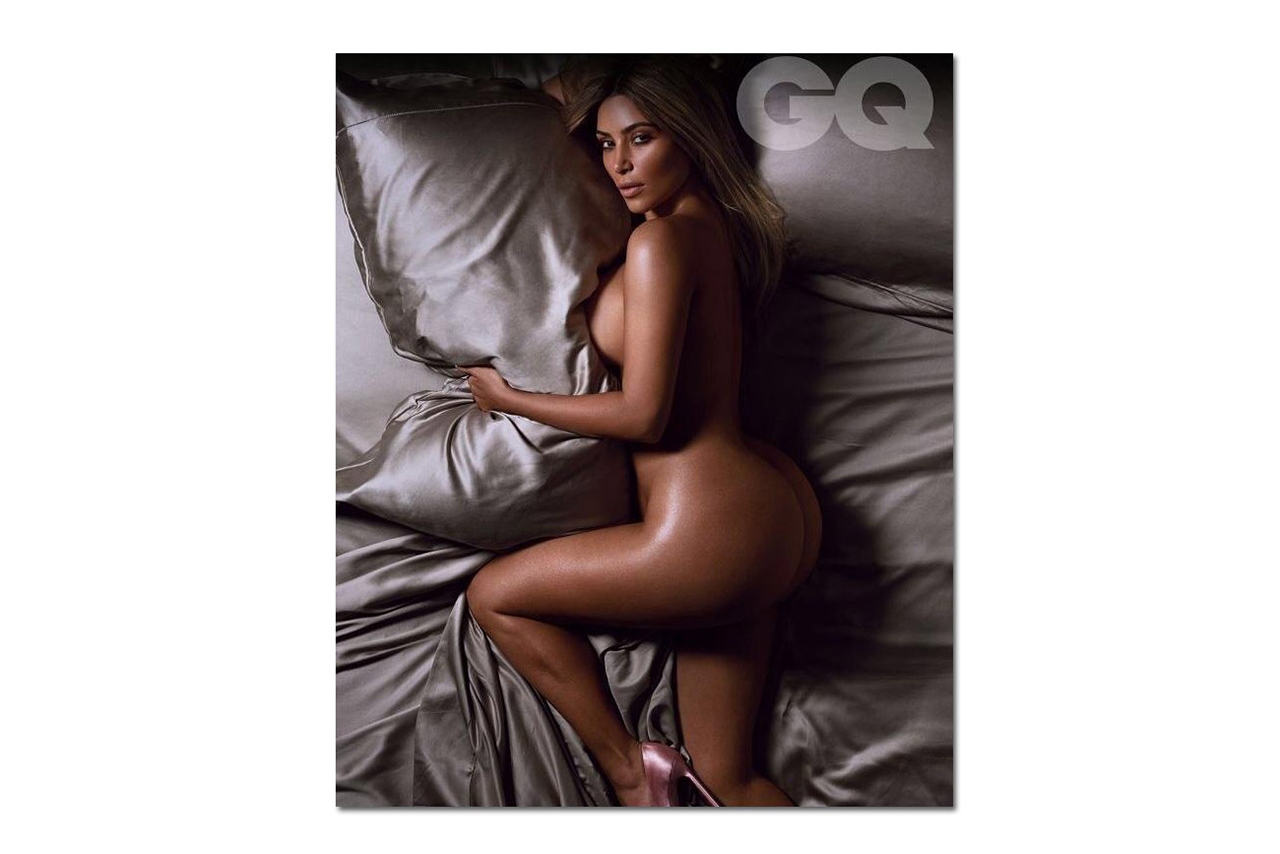 "Image of Kim Kardashian Named ""Woman of the Year"" by British GQ"