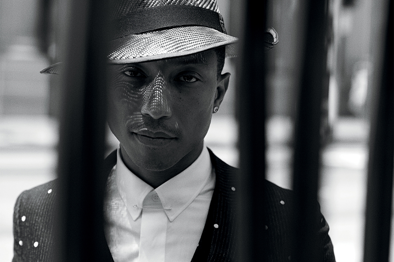 Image of Pharrell Williams by Peter Lindbergh for WSJ. Magazine