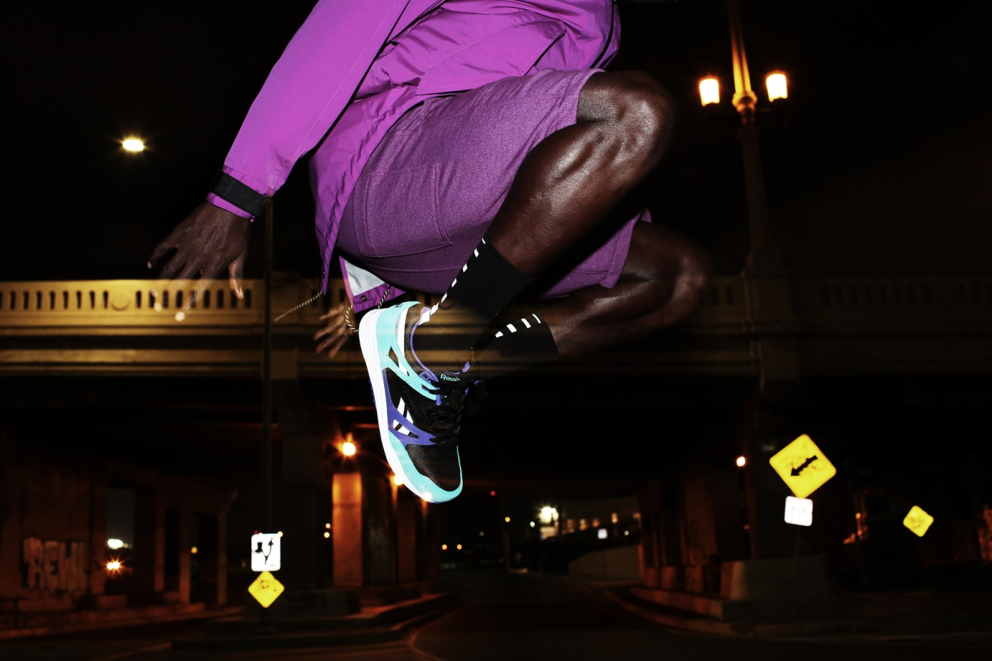 "Image of Reebok ""Night Vision"" Ventilator Editorial by Ja Tecson"