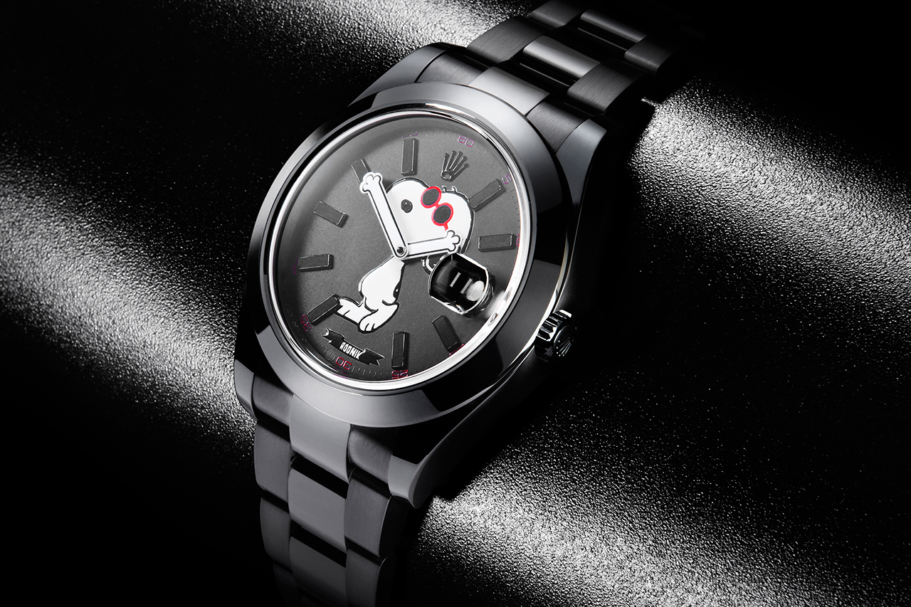 Image of Snoopy x Rodnik Band x Bamford Watch Department Rolex Datejust
