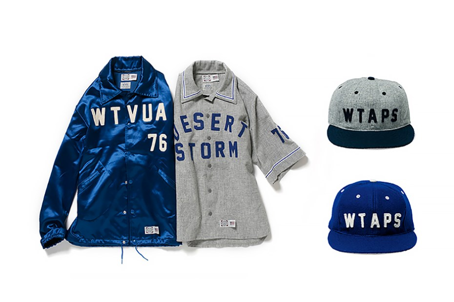 Image of WTAPS x Ebbets Field Flannels 2014 Fall/Winter Collection