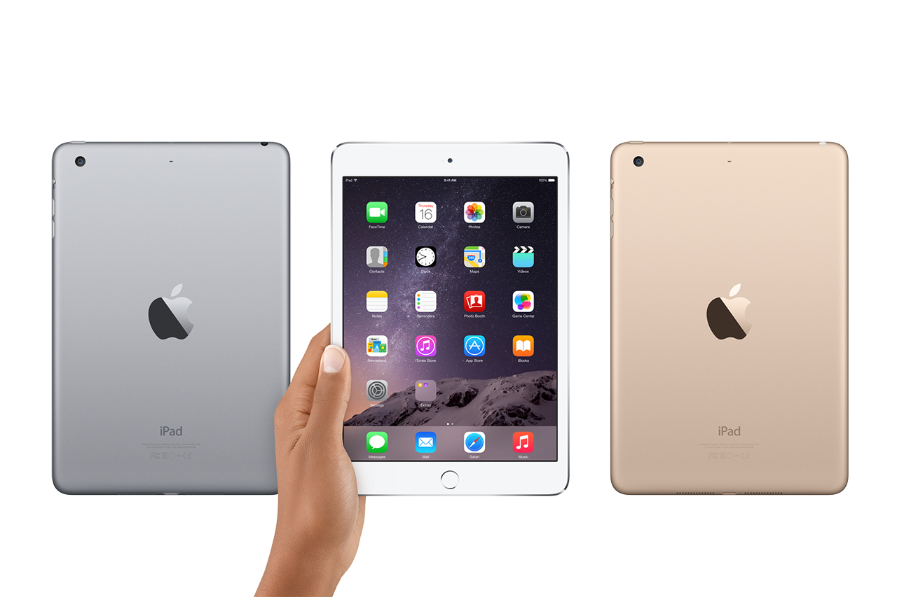 Image of Apple Unveils the iPad mini 3