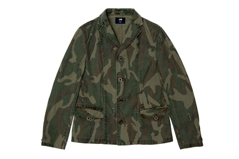 Image of kolor BEACON Dover Street Market Ginza Exclusive Camo Outerwear Collection