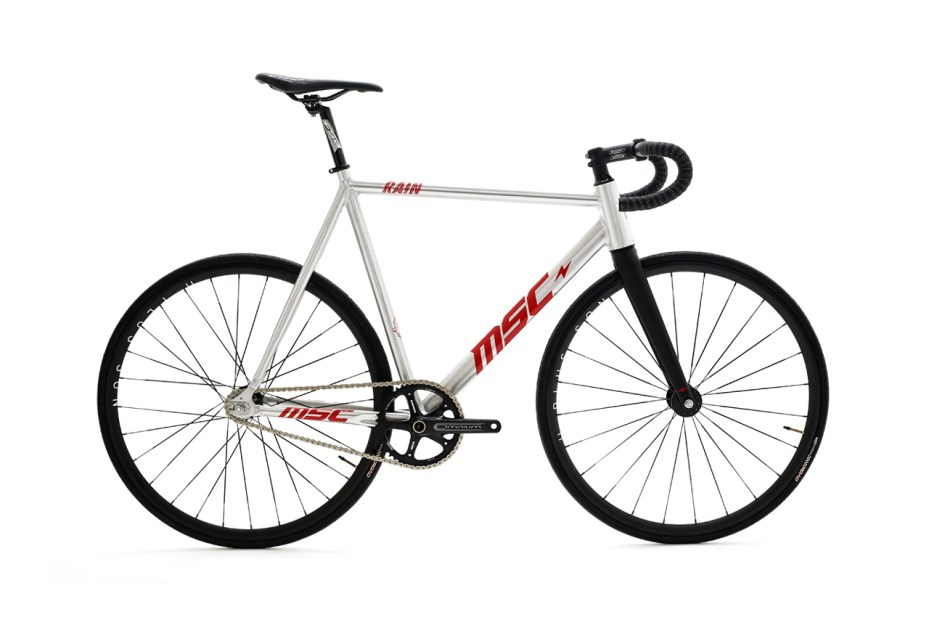 "Mott street cycles ""msc rain"" pro model track bike"