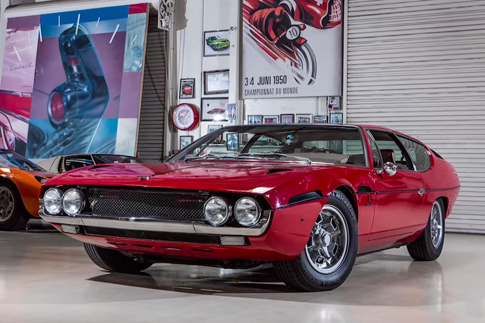 Classic Muscle Cars Hd Wallpapers Jay Leno Highlights The 1969 Lamborghini Espada Hypebeast