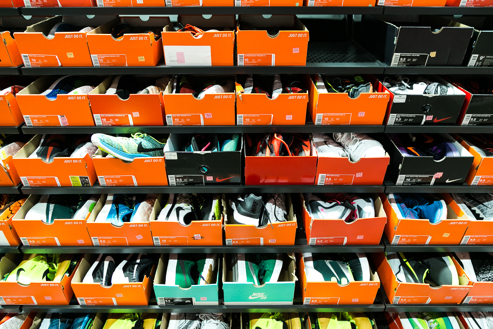 Design Factory Have All Sneaker Factory Outlets Lost Their Appeal