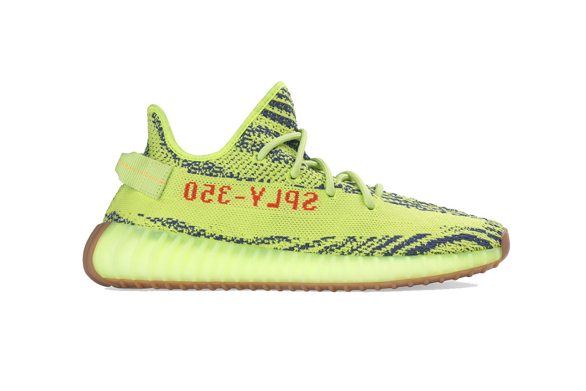 Yellow Shop Adidas Yeezy Boost 350 V2 Quotsemi Frozen Yellow Quot Hypebeast