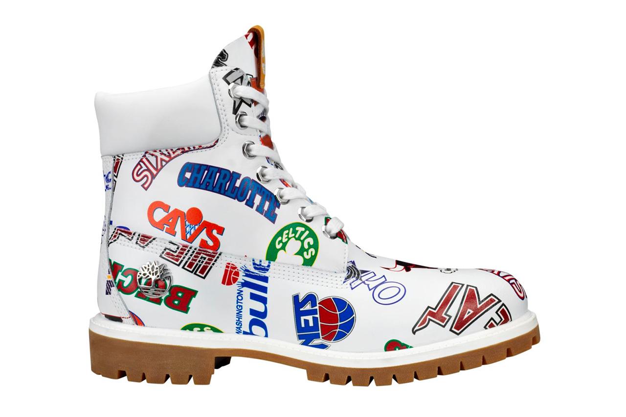 Mitchell Ness X Timberland Nba 6 Inch Boots Hypebeast