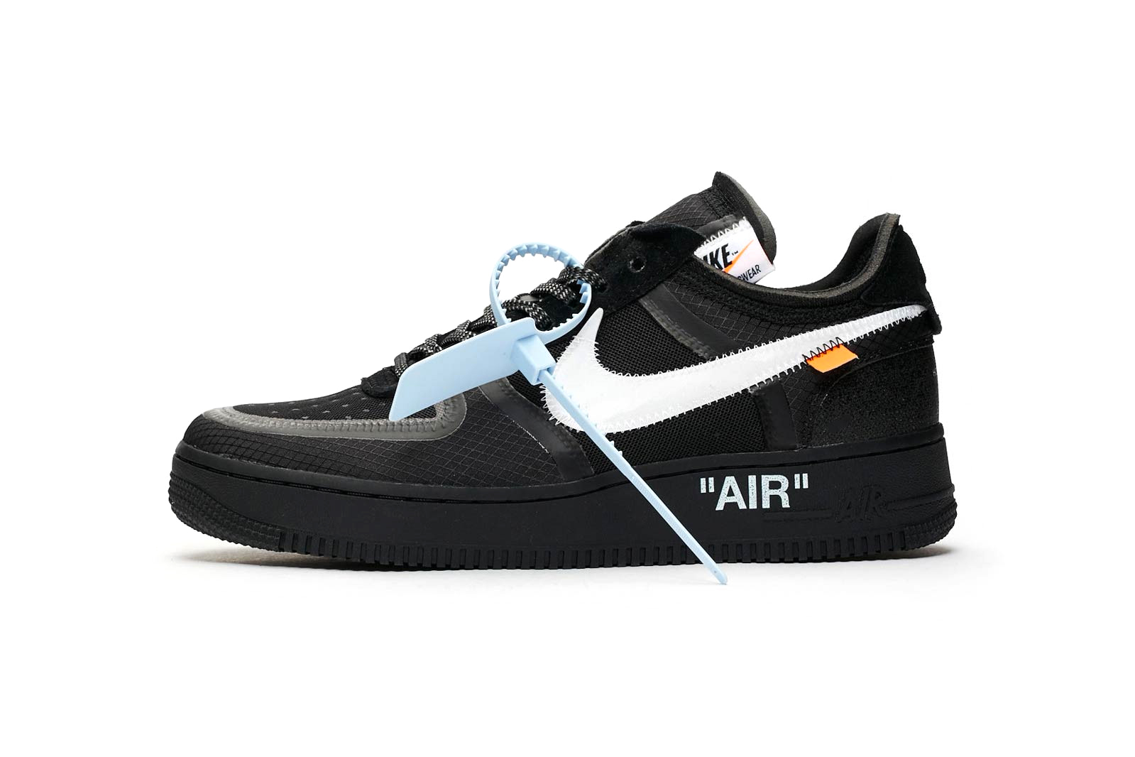 Off White Off White X Nike Air Force 1 Quotblack Quot Release Info Hypebeast