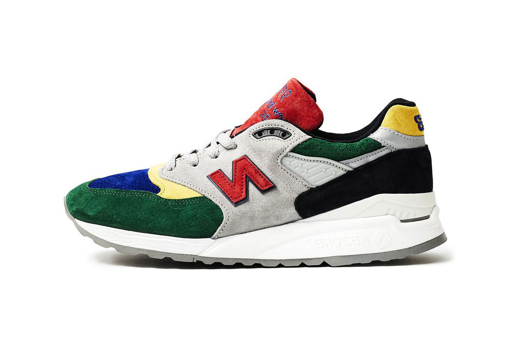 Todd Snyder X New Balance 998 Quotcolor Spectrumquot Hypebeast