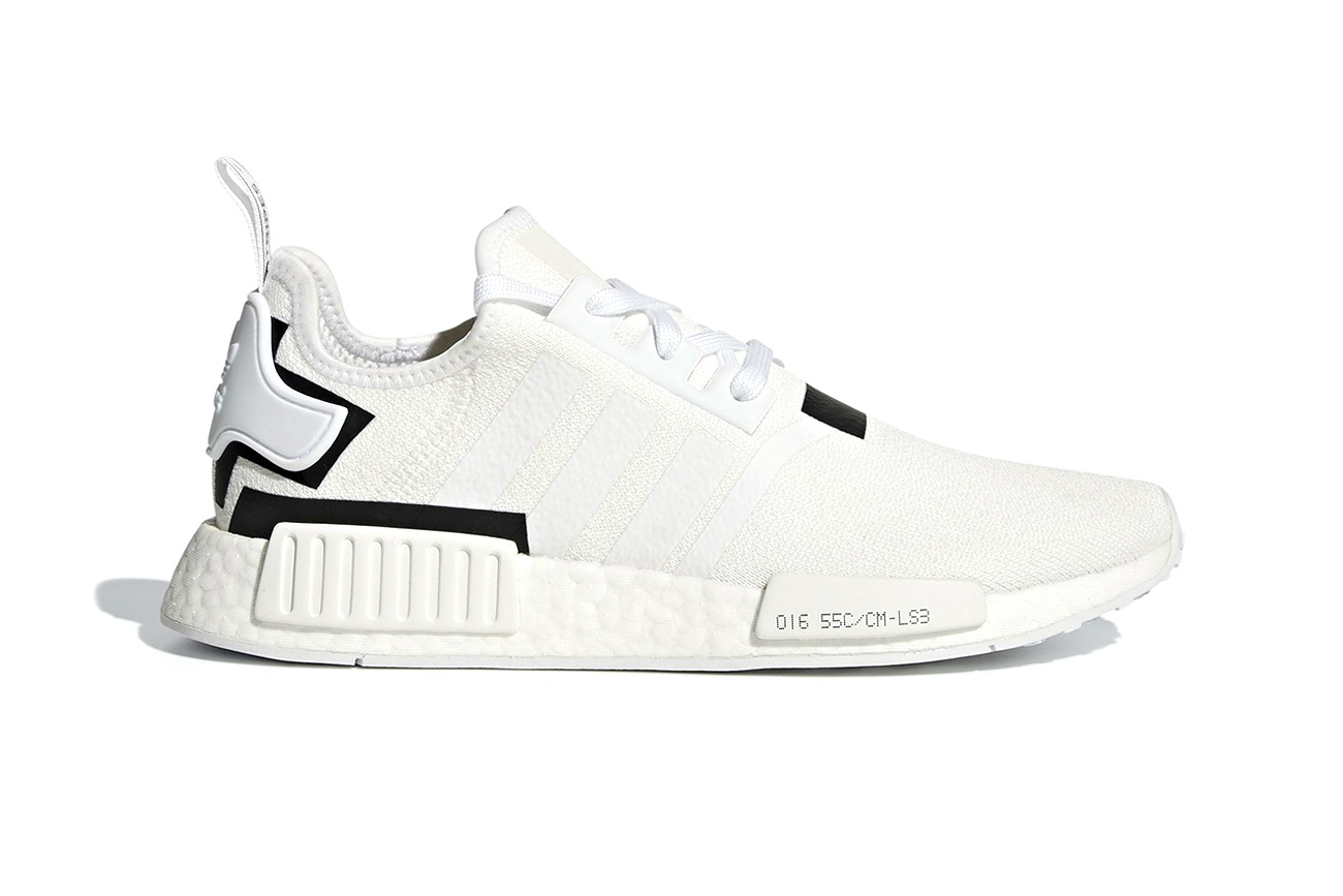 White Photo Adidas Nmd R1 With Black And White Colorblocks Hypebeast