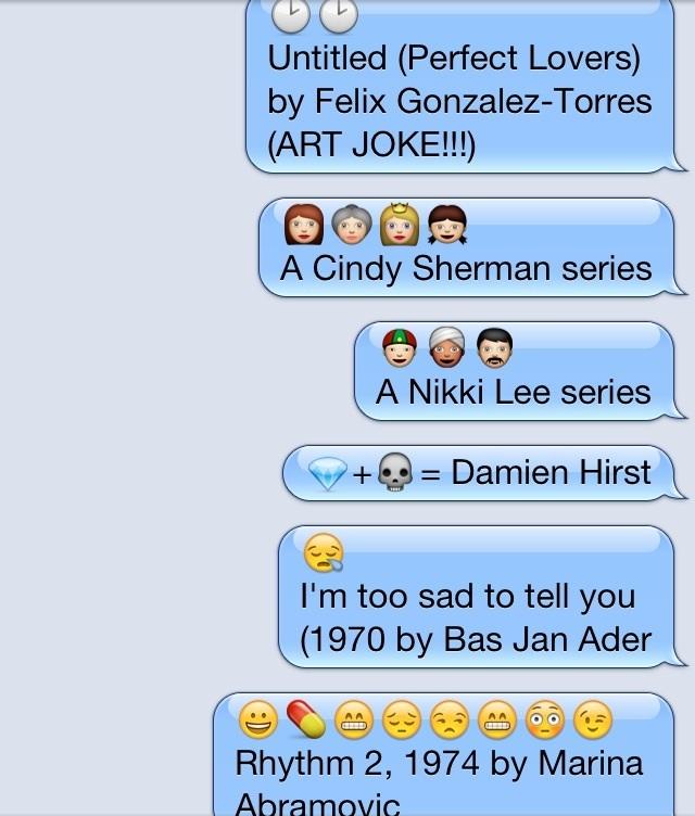 Emoji Art History