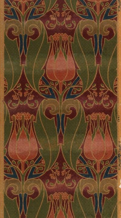 More Than 6,000 Wallpaper Designs Digitized