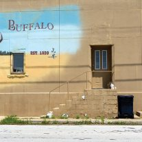 Mural, downtown Buffalo, Missouri