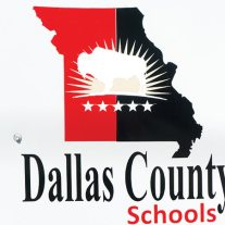 Dallas County Schools sign, Buffalo, Missouri
