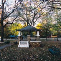 Bandstand, Jerico Springs, Cedar County