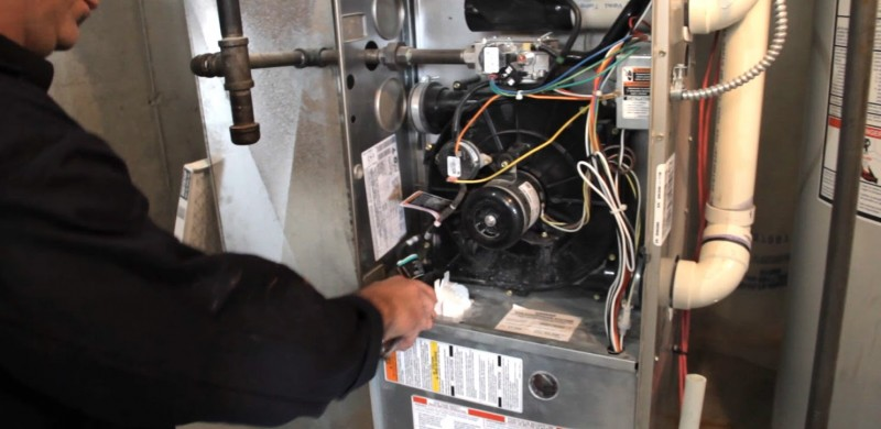 How to clean re-heat coils located within high efficiency furnaces