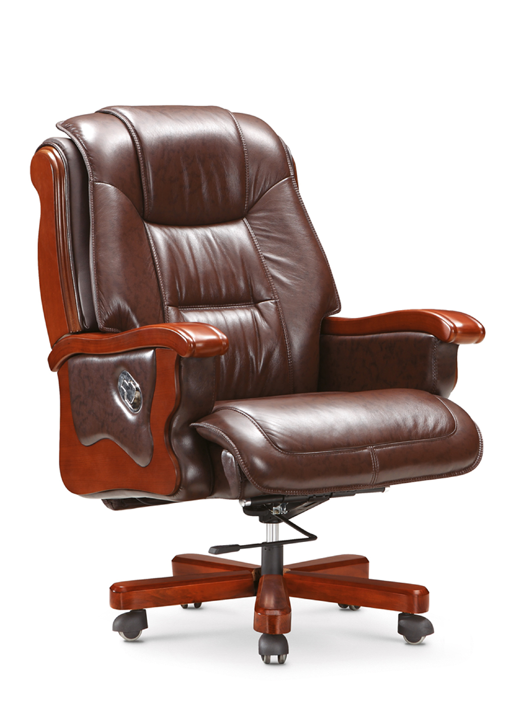 Chairs Comfortable Classical Comfortable Genuine Leather Office Executive Chair Hy