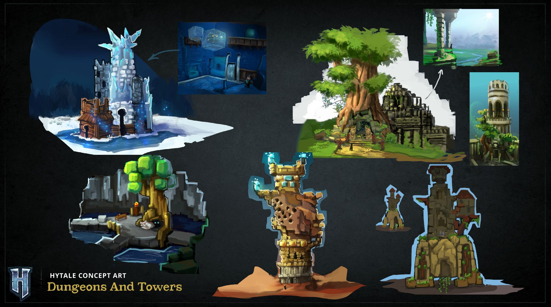 Concept Idee Concept Arts - Hytale-world