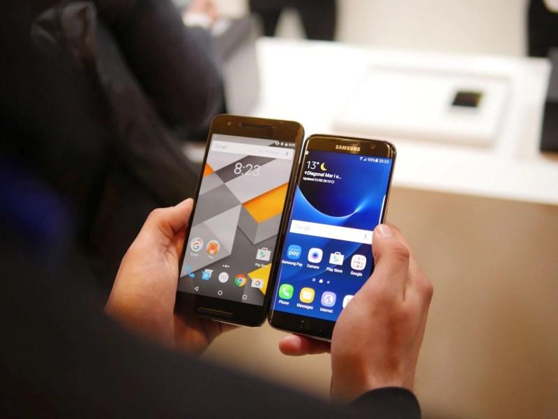 Large Of Galaxy S7 Vs Google Pixel