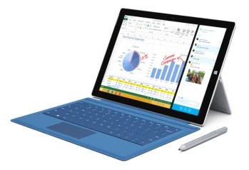 First Microsoft Surface Pro 3 ads target the productivity crowd