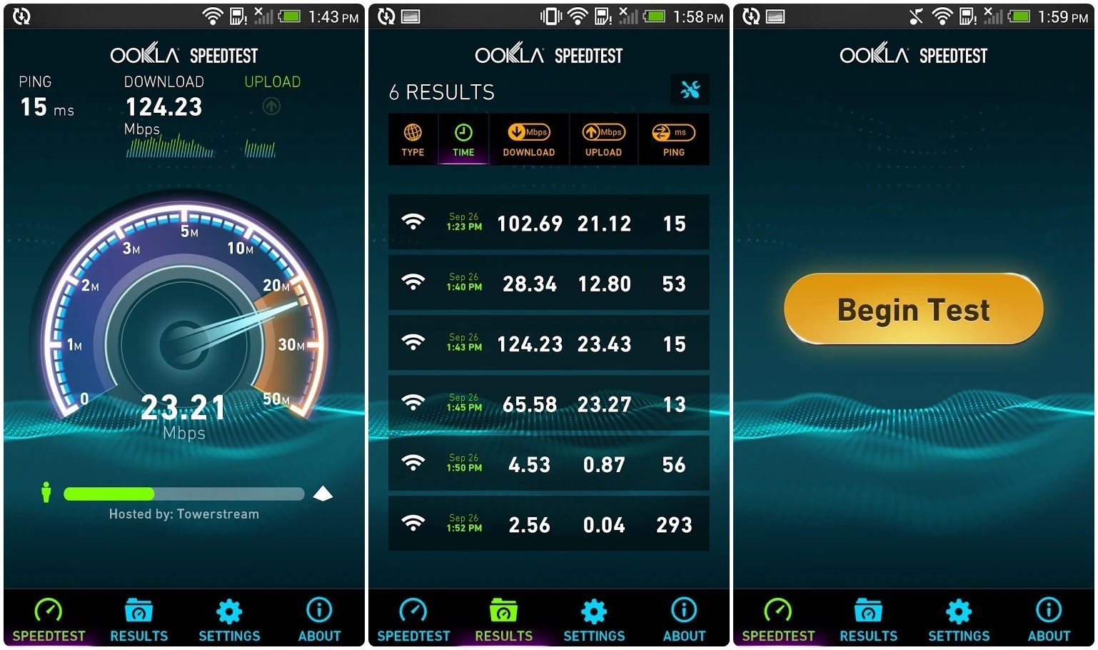Speedtest 6 Android Netspeed Apps To Test Your Internet Connection
