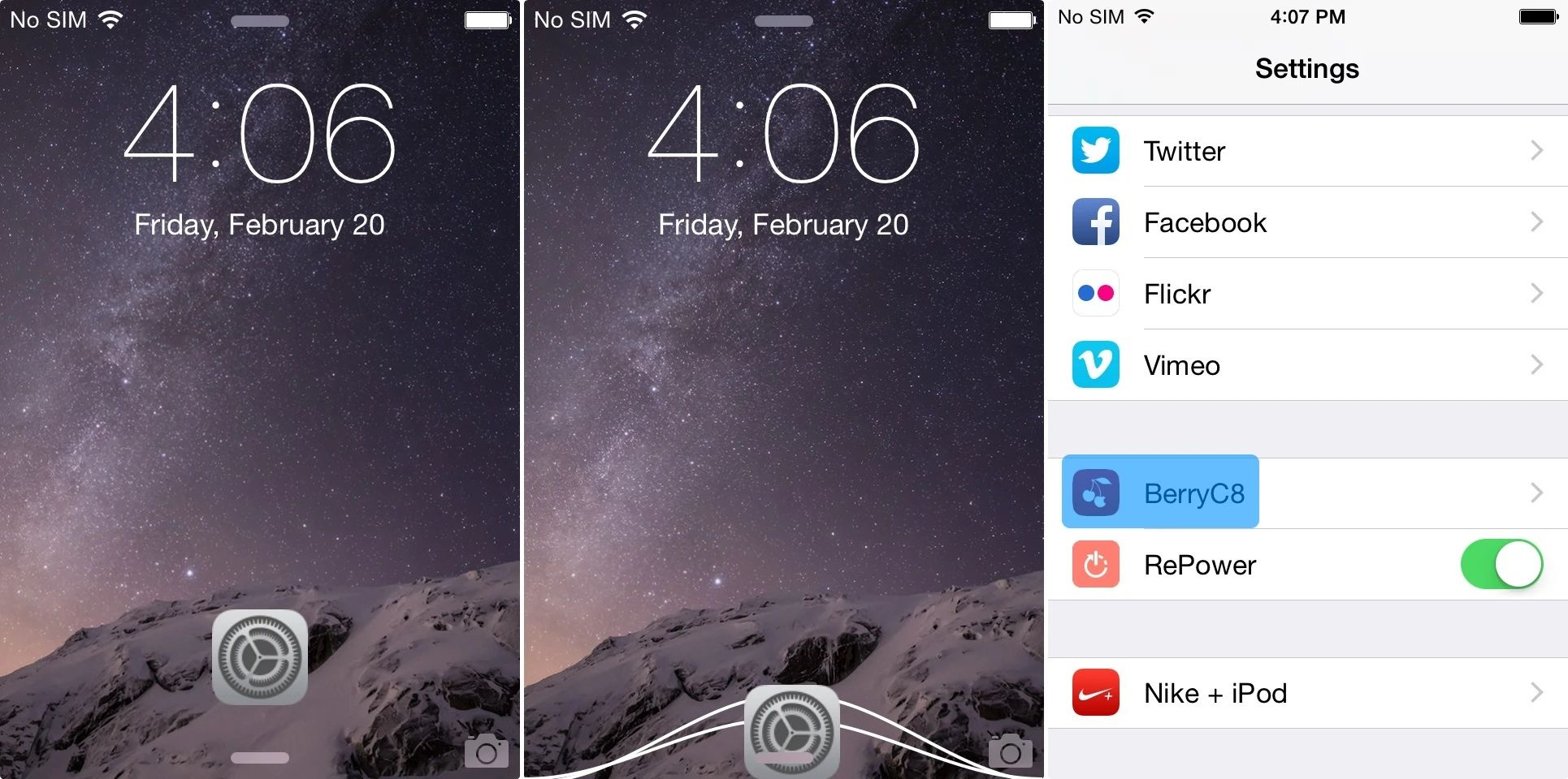 How To Add App Shortcuts To Your Iphone Ipad Or Ipod Touch S Lockscreen  Jailbreak Download