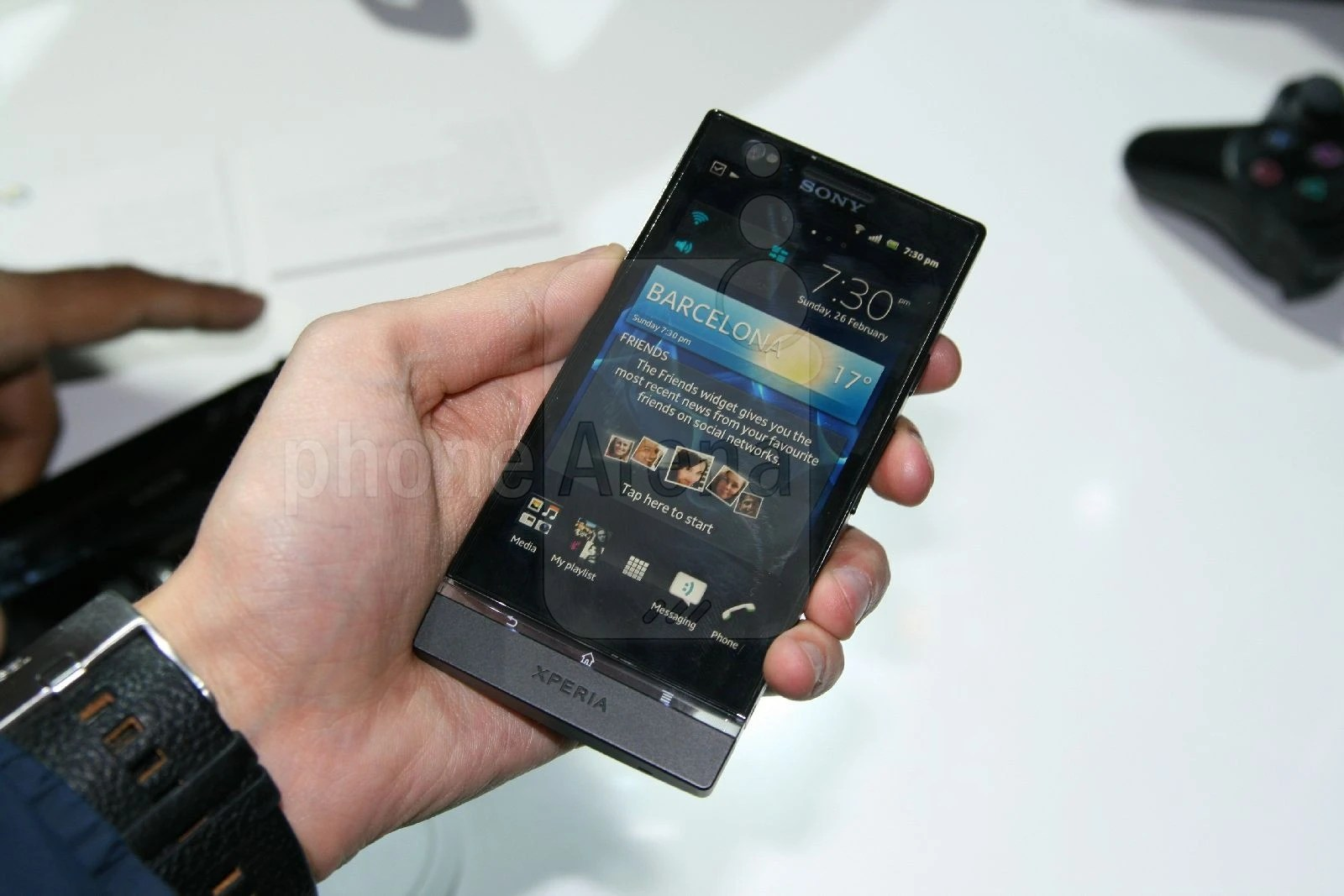 Sony Xperia P Libre Sony Xperia P Hands On Review Phonearena Reviews