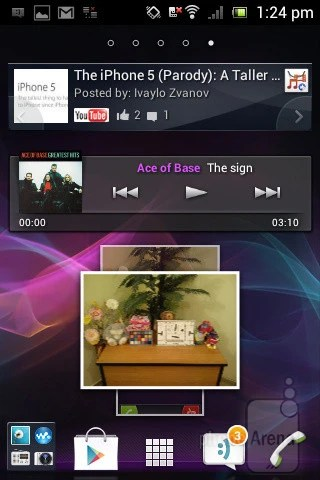 Download Widgets For Sony Xperia Miro - getshe