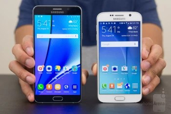 Iphone 6s Wallpaper Dimensions Samsung Galaxy Note5 Vs Samsung Galaxy S6