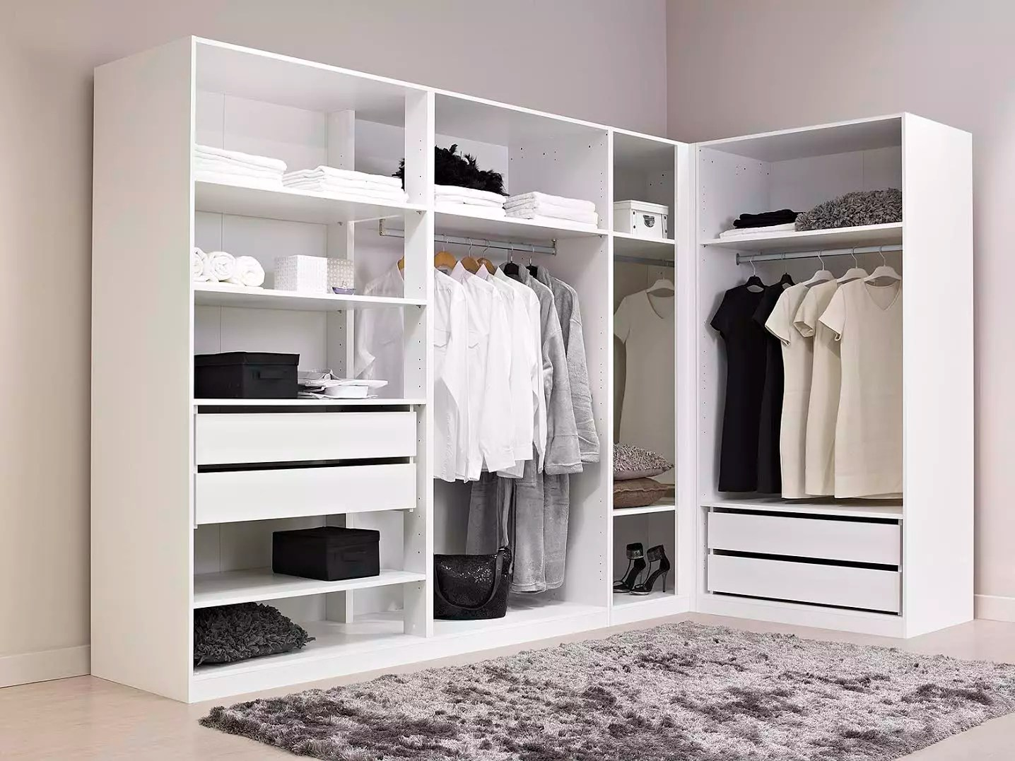 Armoire Dressing Angle Dressing En Angle Pas Cher