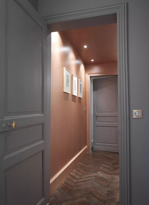Papier Peint Couloir Sombre   Rideau Porte D Entrée Isolant New ...