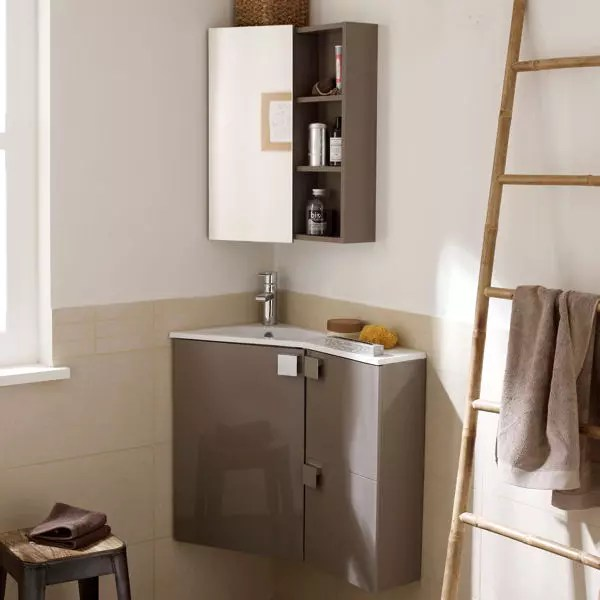 Meuble Lave Main Wc Castorama Meuble Corner Leroy Merlin