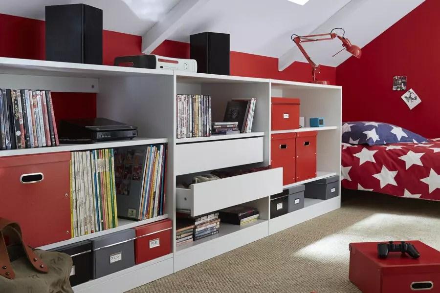 Chambre Bebe Mansardee | Salon Brique Rouge Photo Avec Briquette ...