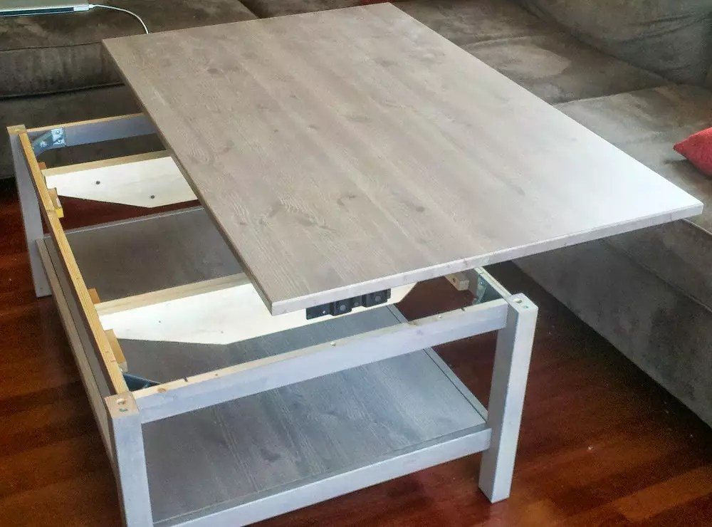 Tables Basse Ikea Une Table Basse Relevable