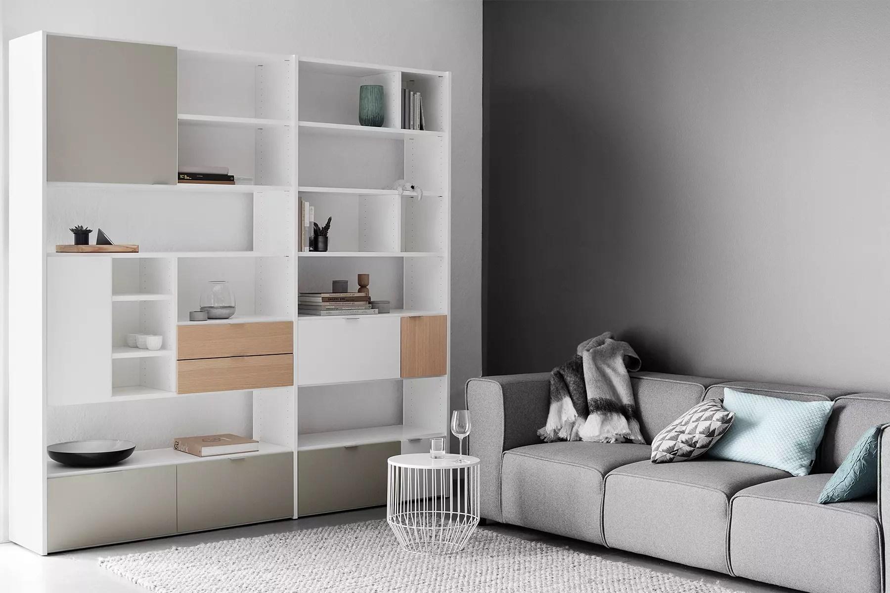 Mur Rangement | Rangement Sur Mesure Coucher Chambre Meubles Espace