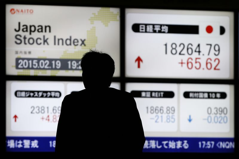 Japan stocks higher at close of trade; Nikkei 225 up 089 By
