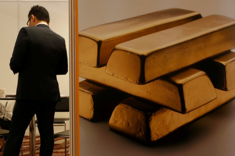 Gold Prices Cling To 2-Week High Ahead Of US Inflation Data, Fed