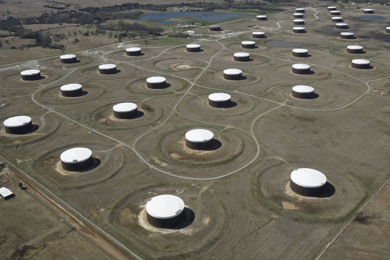 Oil falls on increased US rig count, China industrial slowdown