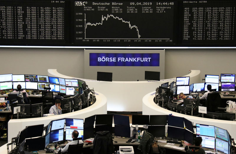 World stocks eke out gains ahead of ECB meeting By Reuters