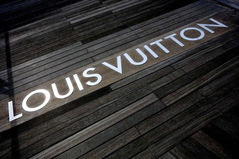 LVMH shares touch record highs after luxury group\u0027s solid first