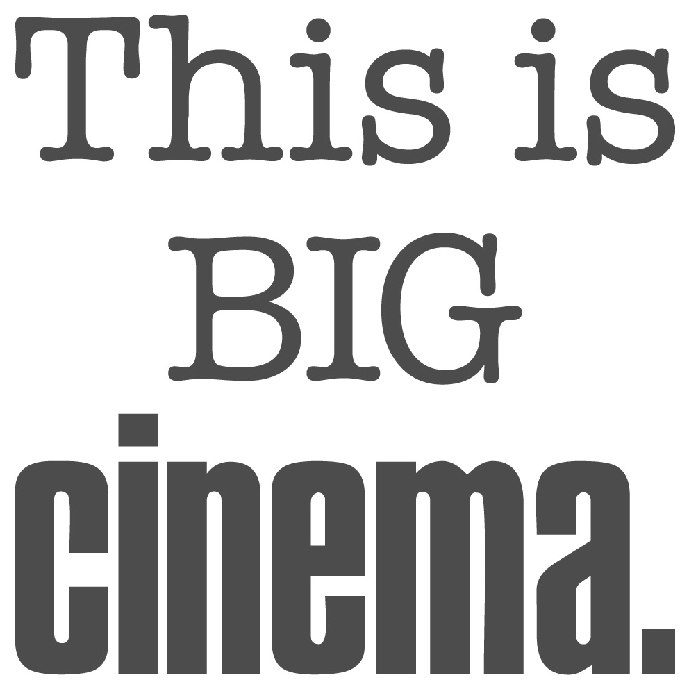 Spruch Wandtattoo Lustig This Is Big Cinema Wandsticker I Love Wandtattoo