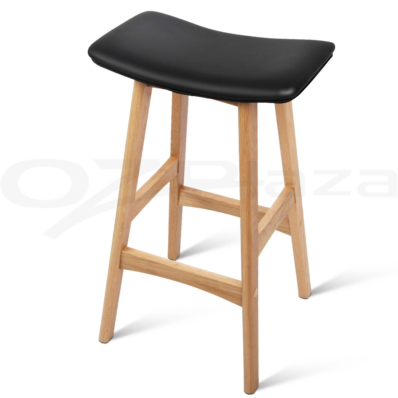 Wooden Kitchen Stools 4x Oak Wood Bar Stools Wooden Barstool Dining Chairs