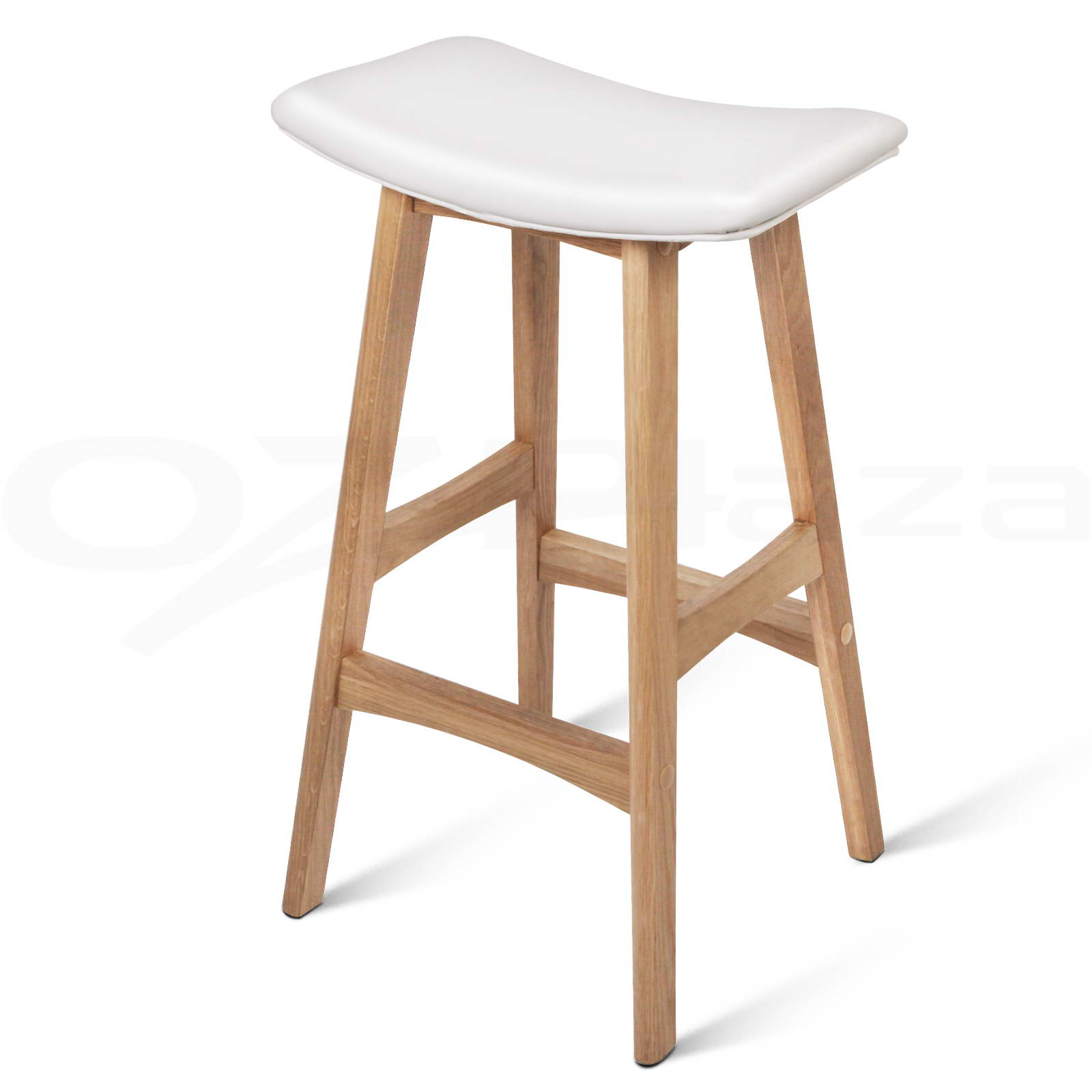 Wooden Kitchen Stools 4x Oak Wood Bar Stools Wooden Dining Chairs Kitchen Side
