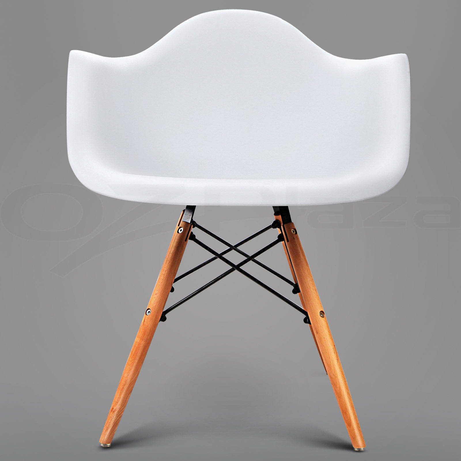 Arm Chair Side 2 X Retro Replica Eames Dining Chair Daw Office Cafe Side