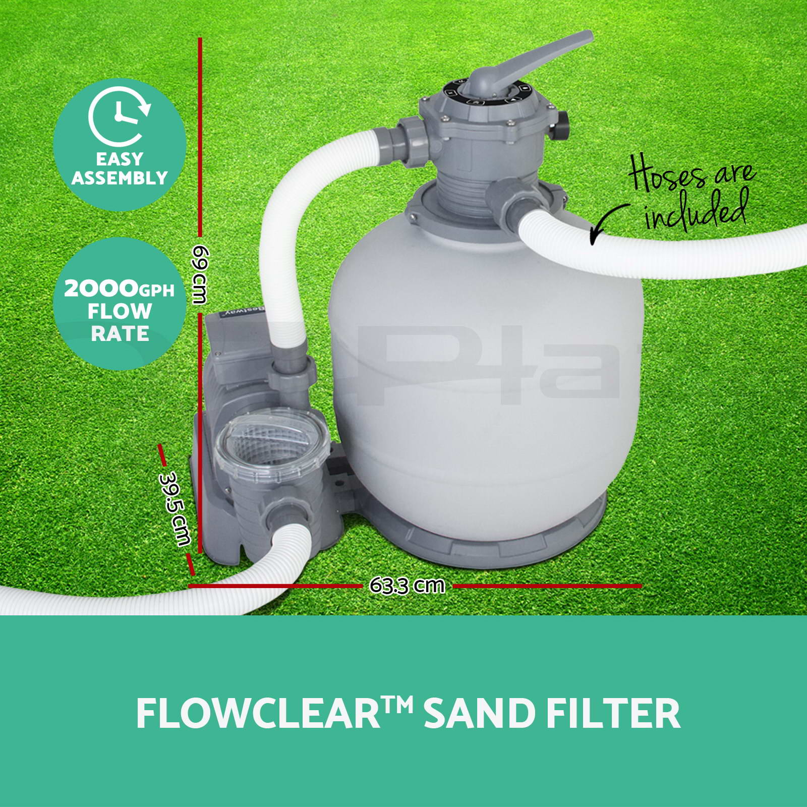 Jacuzzi Pool Vacuum Parts Bestway Flowclear Filter Pump Sand Filter Pool Vacuum