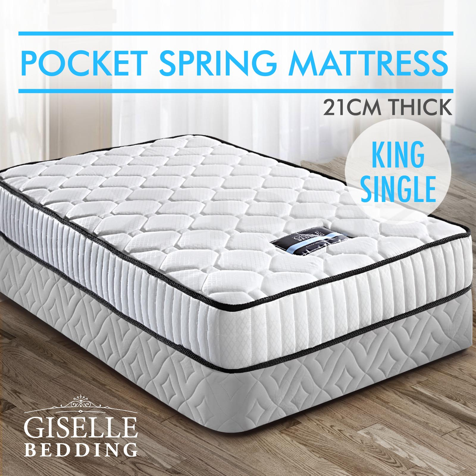 Size Of A King Single Bed Queen Double King Single Mattress Bed Size Pocket Spring